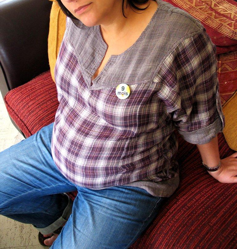 badge femme enceinte onine